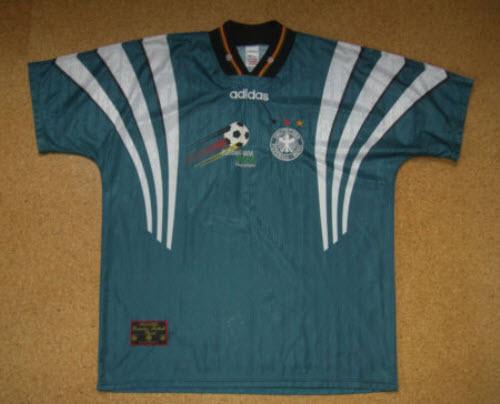 em1996 DFB Auswärtstrikot