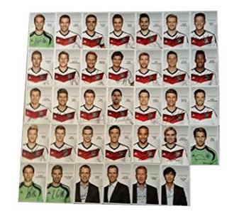 nationalspieler-autogrammkarten