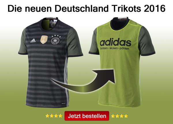 Das war das DFB Away Trikot 2016 als Wendetrikot von adidas.
