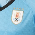 4 Sterne von Uruguay auf dem WM Trikot